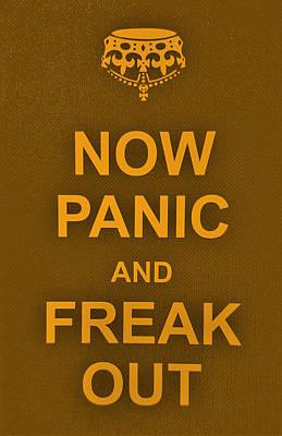 British Propaganda Digital Art - Now Panic 16 by Rob Hans