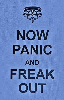 British Propaganda Digital Art - Now Panic 17 by Rob Hans
