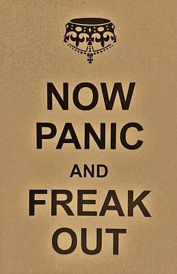 British Propaganda Digital Art - Now Panic 18 by Rob Hans