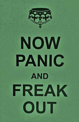 British Propaganda Digital Art - Now Panic 19 by Rob Hans