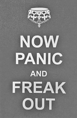 British Propaganda Digital Art - Now Panic 2 by Rob Hans