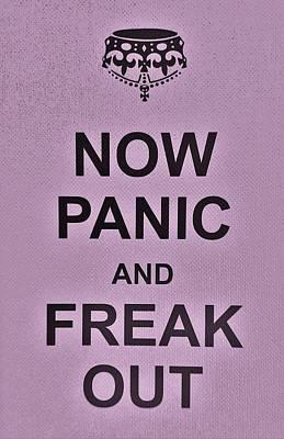British Propaganda Digital Art - Now Panic 20 by Rob Hans