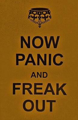 British Propaganda Digital Art - Now Panic 23 by Rob Hans