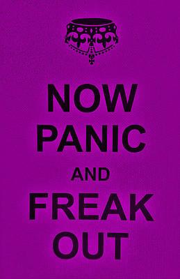 British Propaganda Digital Art - Now Panic 24 by Rob Hans