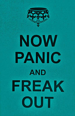 British Propaganda Digital Art - Now Panic 26 by Rob Hans