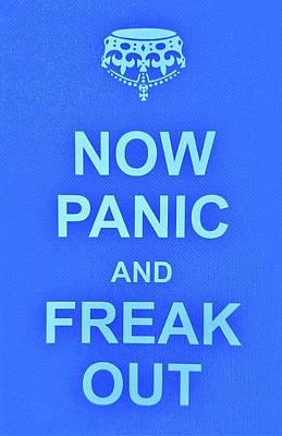 British Propaganda Digital Art - Now Panic 3 by Rob Hans