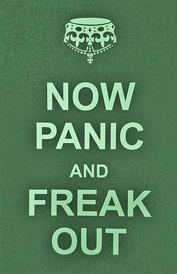 British Propaganda Digital Art - Now Panic 5 by Rob Hans