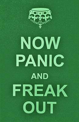 British Propaganda Digital Art - Now Panic 8 by Rob Hans