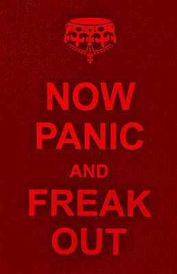 British Propaganda Digital Art - Now Panic 9 by Rob Hans
