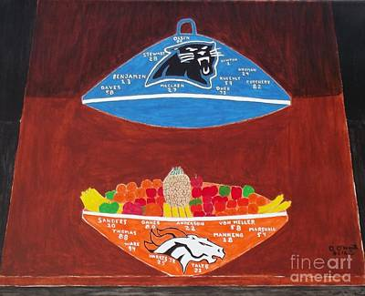 Now That's A Superbowl Print by Dennis ONeil