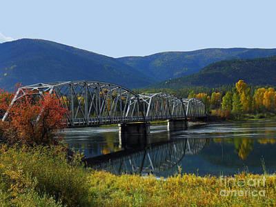 Noxon Bridge Print by Tonya P Smith