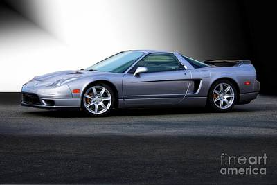 Sterling Silver Photograph - Nsx 'sterling' Acura by Dave Koontz