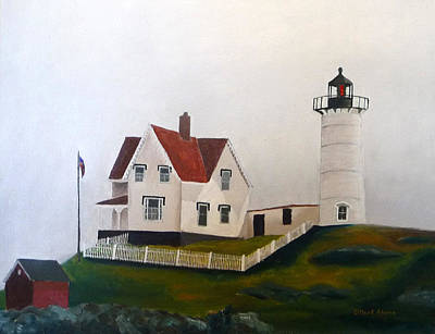 Nubble Light Iv Print by Dillard Adams