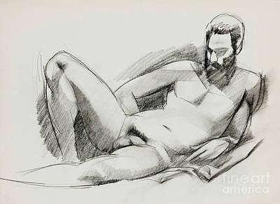 Nude 020 Original by Edward Henrion