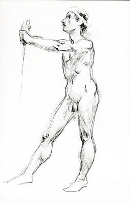 Nude 024 Original by Edward Henrion