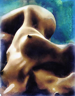 Nude Painting - Nude #29 by Vya Artist