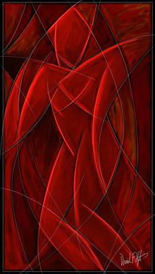 Nude Dancer Print by David Kyte
