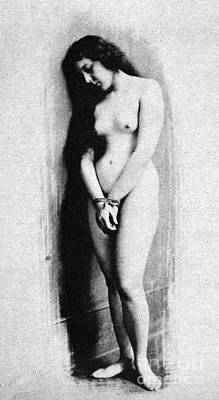 Slaves Photograph - Nude Slave, 1901 by Granger