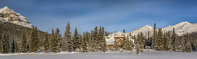 Num-ti-jah Lodge At Bow Lake In Banff National Park Original by Yves Gagnon