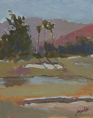 Number One Sunrise Cc Rancho Mirage Ca Print by Joe White
