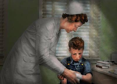 Nurse - Mending Spirits 1939 Print by Mike Savad