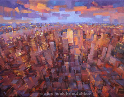 Ny-ny Print by Alex Hook Krioutchkov