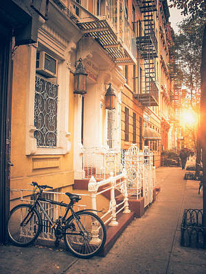East Village Photograph - Nyc Autumn by Vivienne Gucwa