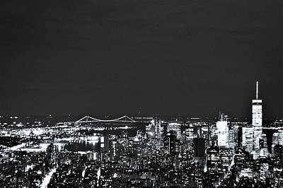 Nyc The City That Never Sleeps Print by Rick Grossman