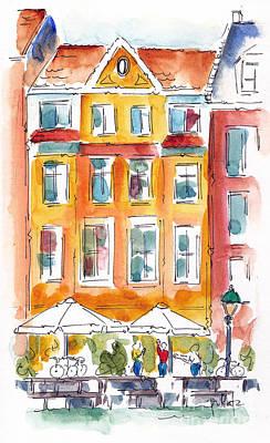Nyhavn Print by Pat Katz