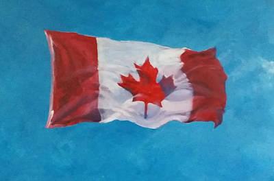 O Canada Original by Patty Kingsley