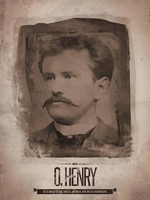 O. Henry Print by Afterdarkness