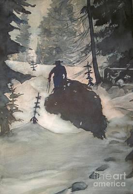 Painting - O Tannenbaum by Elizabeth Carr