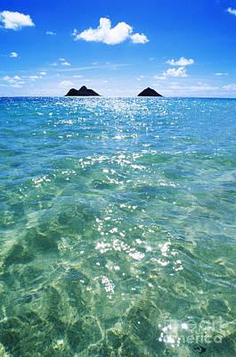 Oahu, Lanikai Beach Print by Carl Shaneff - Printscapes