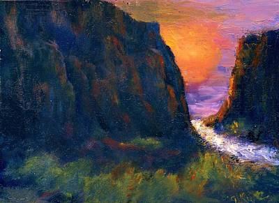 Oak Creek Canyon Print by Gail Kirtz