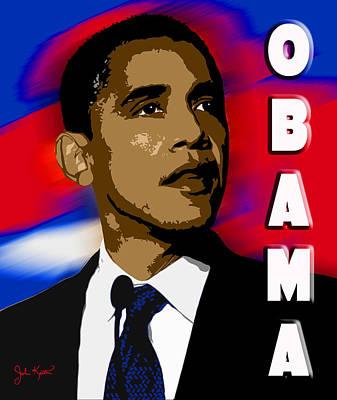 Obama Print by John Keaton