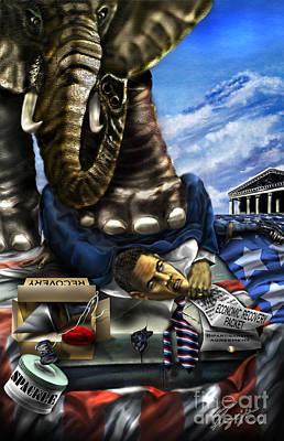 Obama Original by Reggie Duffie