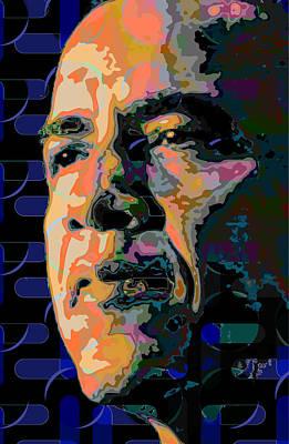 Obama Painting - Obama by Scott Davis