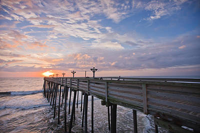 Atlantic Ocean Photograph - Obx Sunrise by Adam Romanowicz
