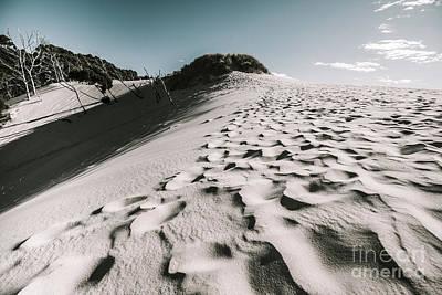 Ocean Beach Desert In Tasmania Print by Jorgo Photography - Wall Art Gallery