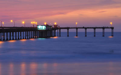 Ocean Beach Pier Print by Kelly Wade