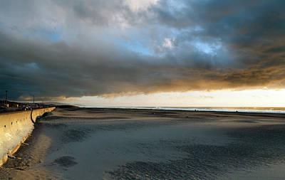 Ocean Beach Under Cover Print by Daniel Furon