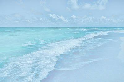 Beach Digital Art - Ocean Blue by Lonnie Christopher
