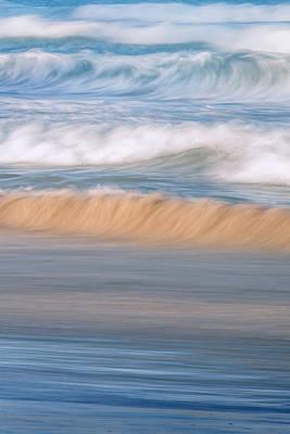 Nature Abstract Photograph - Ocean Caress by Az Jackson