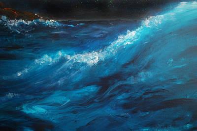 Ocean II Print by Patricia Motley