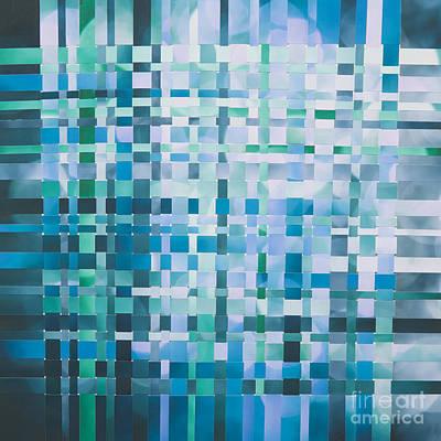 Paper Mixed Media - Ocean by Jan Bickerton