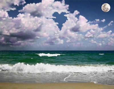 Mixed Media - Ocean Of Dreams by Steven Peters