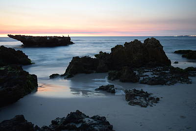 Sunset Photograph - Ocean Overture At Dusk by Anna