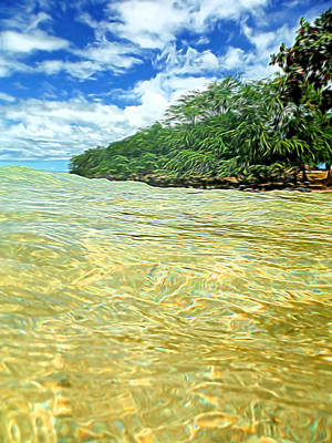 Ocean Paradise Print by Pamela Walton