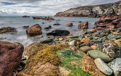 Beach Digital Art - Ocean Stones by Adrian Evans