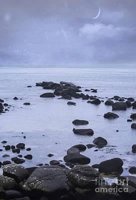 Ocean Stones Print by Juli Scalzi